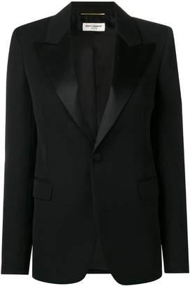 Saint Laurent buttoned blazer