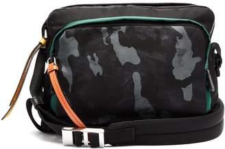 Prada Camouflage-print nylon shoulder bag