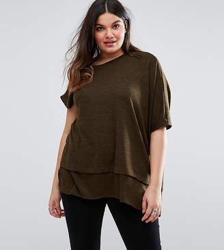 Elvi Plus Asymmetric Sweater