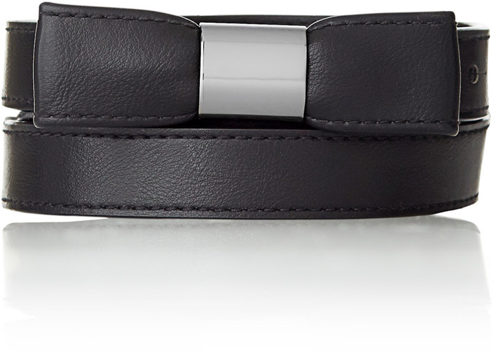 The Limited Bow Tie Skinny Belt