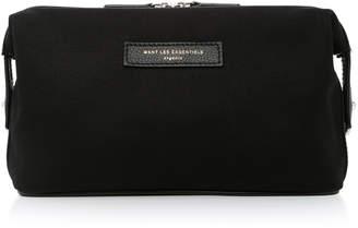 WANT Les Essentiels Kenyatta Canvas And Leather Dopp Kit