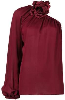 Elie Saab one shoulder blouse