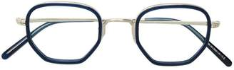 Oliver Peoples OP-40 30th embossed temple glasses