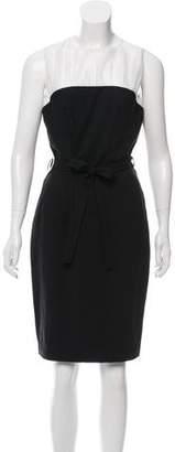 Just Cavalli Sleeveless Knee-Length Dress