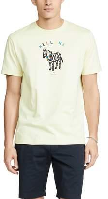 Paul Smith Short Sleeve Aloha Zebra T-Shirt