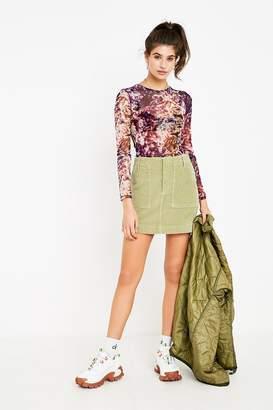 BDG Corduroy Carpenter Skirt