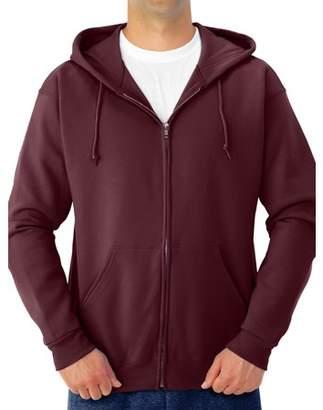 Jerzees Men's NuBlend Preshrunk Fleece Full Zip Hooded Sweatshirt