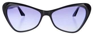 Cat Eye Andy Wolf Eyewear Gradient Cat-Eye Sunglasses