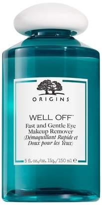 Origins Well Off(R) Fast & Gentle Eye Makeup Remover