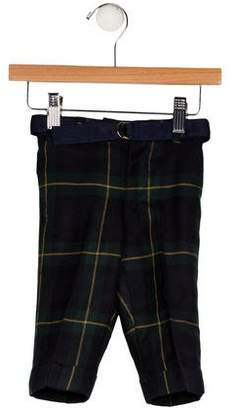 Ralph Lauren Boys' Wool Plaid Pants