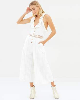 fa1a1e4a9dfb Gold Jumpsuit - ShopStyle Australia