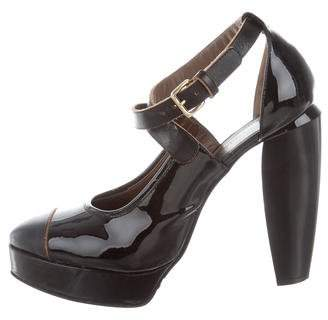 Marni Patent Leather Platform Pumps
