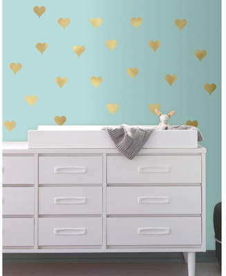 Room Mates Heart Peel and Stick Wall Decal