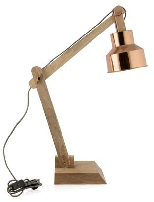 Home & Giftware Chelsea Desk Lamp Copper