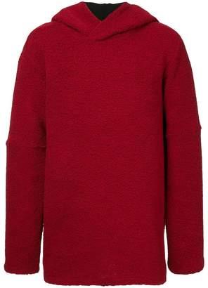 Strateas Carlucci faux shearling hoodie