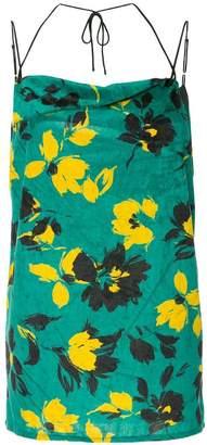 Miharayasuhiro floral print top