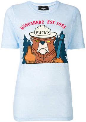 DSQUARED2 Fucky T-shirt