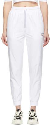 Vector Reebok Classics White Track Pants
