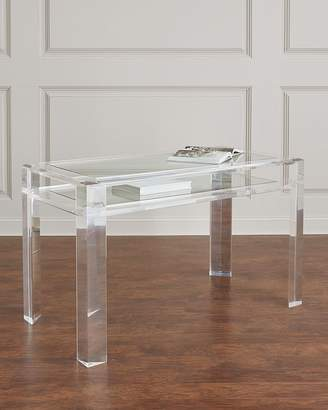 Interlude Home Landis Acrylic Writing Desk
