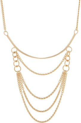 "Brooke Shields Timeless BROOKE SHIELDS Timeless 18"" Multi-Chain Drop Necklace with Extender"
