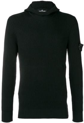 Stone Island Shadow Project ribbed jumper