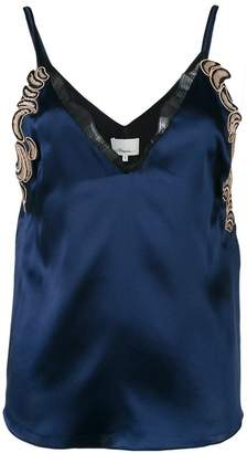 3.1 Phillip Lim lace slip cami blouse