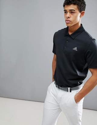 adidas Ultimate 365 Polo Shirt In Black CY5403