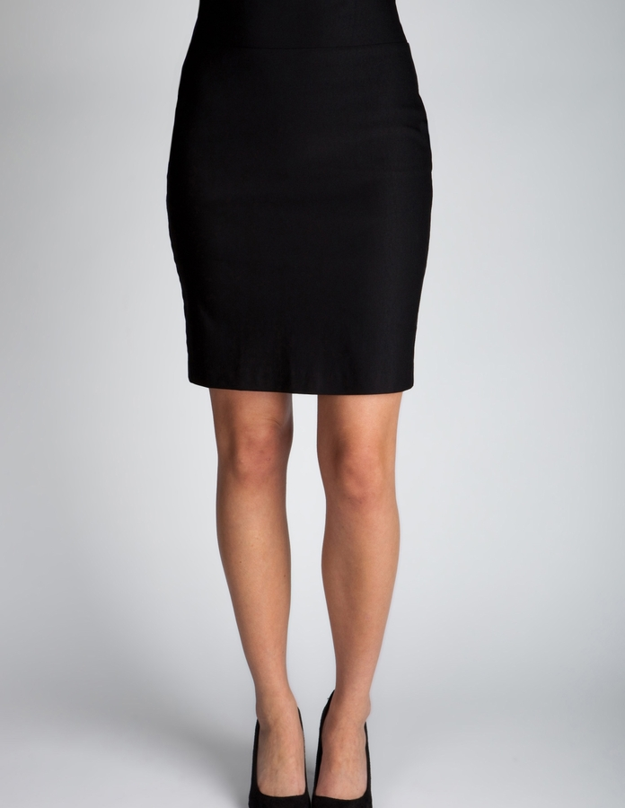 Charlotte Russe Pull-On Pencil Skirt