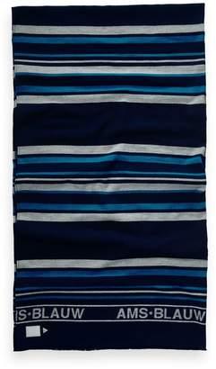 Scotch & Soda Blue Striped Scarf
