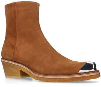 Calvin Klein Clute Toe Cap Ankle Boots