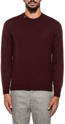 Mauro Grifoni Bordeaux Wool Sweater