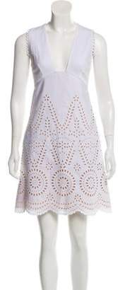 Stella McCartney 2016 Broderie Anglaise Dress White 2016 Broderie Anglaise Dress