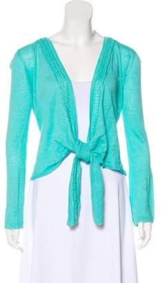 Calypso Lightweight Knit Cardigan Blue Lightweight Knit Cardigan