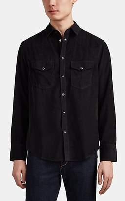 Rag & Bone Men's Beck Cotton Corduroy Western Shirt - Black