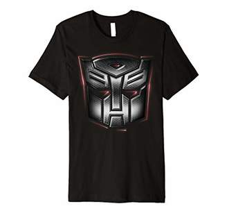 Transformers Rubber Autobots Logo With Outer Glow Premium T-Shirt