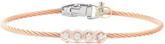 Alor Classique 18K Diamond Bangle