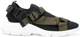 Prada buckle-detail sneakers