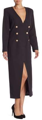 Lumier Melanie Button Coat Trench Dress