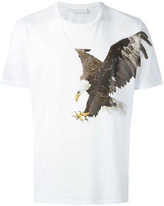Neil Barrett eagle print T-shirt $222.28 thestylecure.com