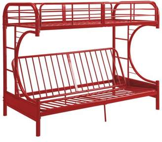 ACME Furniture ACME Eclipse Twin/Full/Futon Bunk Bed, Black