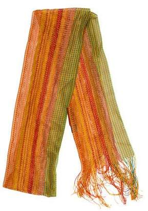 Missoni Striped Fringe-Trim Scarf