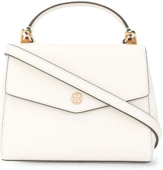 Tory Burch Robinson small saffiano top handle bag