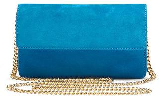 Italian Suede Chain Bag $128 thestylecure.com