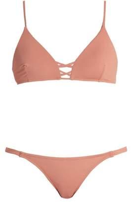 Melissa Odabash Sardinia Bralette Bikini - Womens - Pink