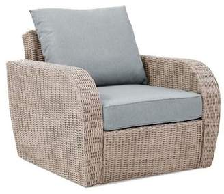 Augustine Crosley Furniture St Outdoor Wicker Arm Chair