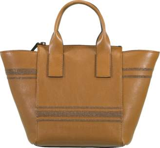 Brunello Cucinelli Glossy Nappa Monili Handbag