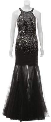 Jovani Embellished Maxi Gown