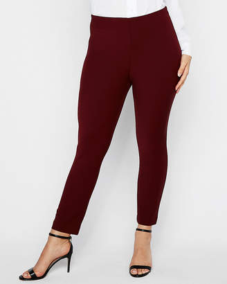 Express High Waisted Pull-On Cropped Skinny Pant