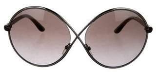 Tom Ford Beatrix Oversize Sunglasses