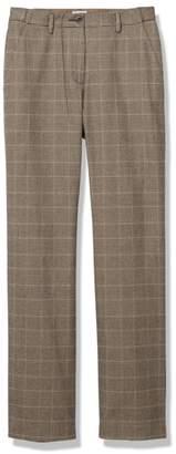 L.L. Bean L.L.Bean Weekend Pants, Hidden Comfort Waist Plaid
